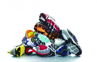 shoe-pile
